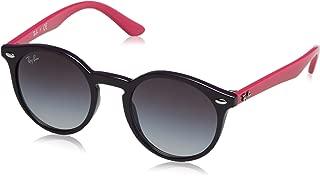 RAY-BAN JUNIOR RJ9064S Round Kids Sunglasses, Violet/Grey...