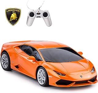 RASTAR Remote Control Car   1:24 RC Lamborghini HURACÁN LP610-4 Toy Car Model Vehicle, Orange