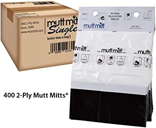 Mutt Mitt 2-ply Pet Waste Bags on Hangable Headers, 400-count