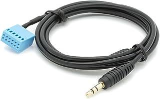 Adapter Universe Auto Radio AUX 3,5mm Klinke Stecker Audio Kabel Adapter MP3 für Apple iPhone KFZ VW RCD RNS 210 310