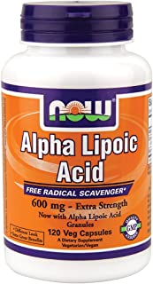 Now Foods Alpha Lipoic Acid 600 mg - 120 Vcaps ( Multi-Pack)