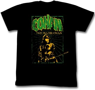 Conan Shirts In the Green Adult Black Tee T-Shirt (2XL)