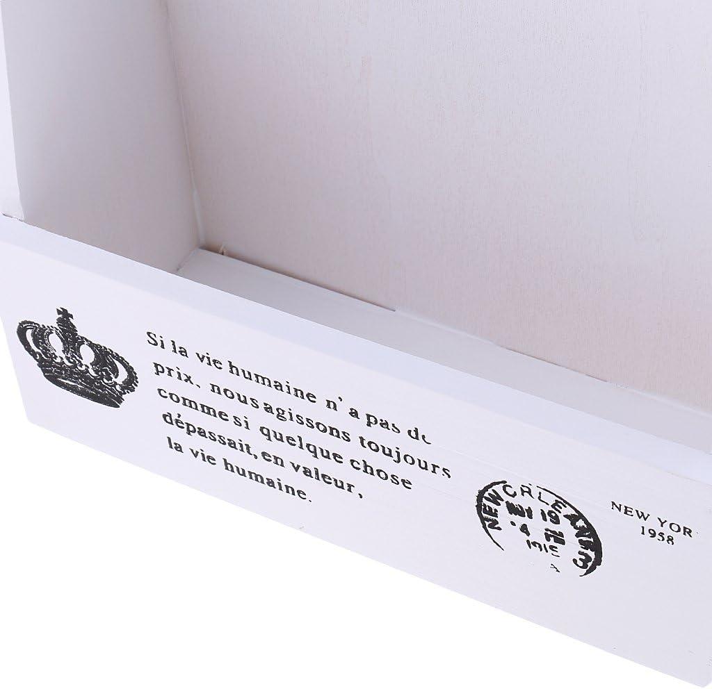 Sharplace Holz Schl/üsselkasten Schl/üsselbrett Schl/üsselboard Schl/üsselschrank 3 Haken Gelb