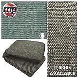 MP Essentials – Carpa de suelo tejida resistente a la intemperie y a la putrefacción, color verde y gris, color Green & Grey, tamaño 2.5 x 5.5m