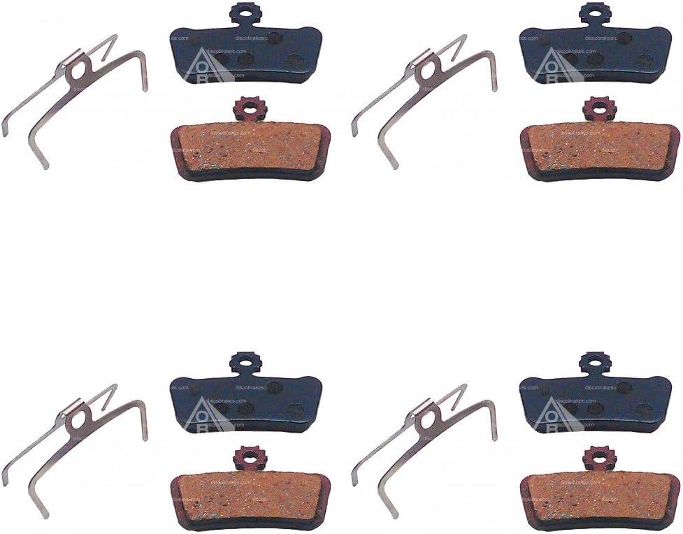 4 Pairs of MTB Bike Disc Brake Pads for Avid X.O, XO, X0, Choose