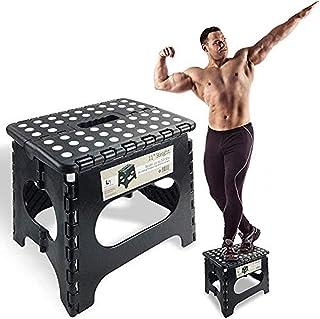 Le marchepied pliable ytrew super résistant peut supporter jusqu'à 136 kg - Le marchepied pliable léger est assez robuste ...