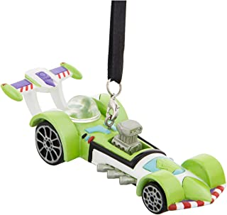 Disney Parks Toy Story Buzz Racers Resin Christmas Ornament New with Tags
