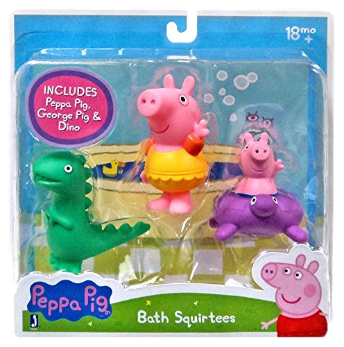 Learn More About Peppa Pig, George and Dinosaur Bath Squirters