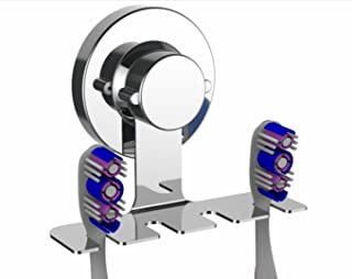 Toothbrush Holder Suction cup toothbrush holder mirror toothbrush holder organizer Chrome Suction Cup Toothbrush Holder