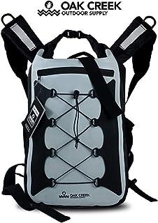 Oak Creek Canyon Falls 30L Dry Bag Backpack. Premium Waterproof Backpack with Padded Shoulder Straps. PVC Construction. Ke...
