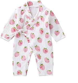 0-18 Meses,SO-buts Recién Nacido Bebé Niño Niñas Otoño Invierno Hilo De Dibujos Animados Túnica Kimono Mono Ropa De Dormir