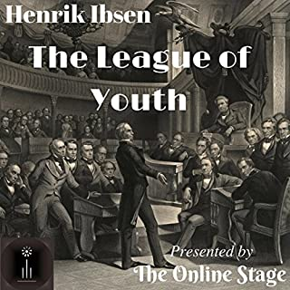 The League of Youth audiobook cover art