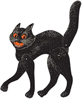 Beistle Jointed Scratch Cat, 20-1/2-Inch