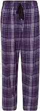 boxercraft - Flannel Pants with Pockets - F20 - M - Purple/Grey