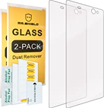 [2-Pack]-Mr.Shield for Sony (Xperia XA Ultra) [Tempered Glass] Screen Protector with Lifetime Replacement