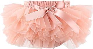 Slowera Baby Girls Soft Tutu Skirt (Skorts) 0 to 36 Months (2-3 Years, Pinkish Tan)