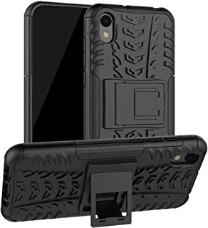 Huawei Y5 2019 Case, Ikwcase Heavy Duty Armor Tough Hybrid Shockproof Dual Layer Kickstand Protective Case Cover for Huawe...