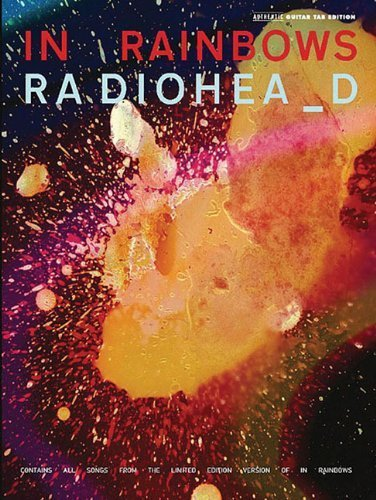 Radiohead: In Rainbows (Authentic Guitar-Tab Editions) by unknown (2008) Sheet music
