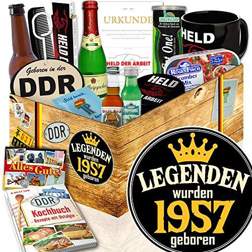 Legenden 1957 / Jahrgang 1957 Geschenk / DDR Geschenkbox