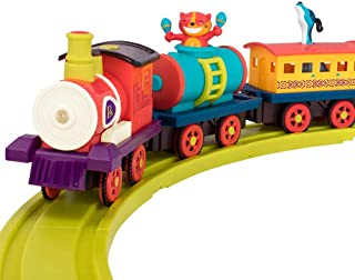 B. Toys Critter Express Musical Electric Toy Train with Steam and Light - 12pc