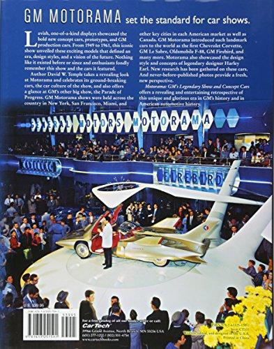 Motorama: GM's Legendary Show & Concept Cars (Cartech)