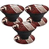 MightySkins Skin Compatible with PopSocket PopSocket - Football   Protective, Durable, and Unique Vinyl Decal wrap Cover   Easy to Apply, Remove, and Change Styles   Made in The USA