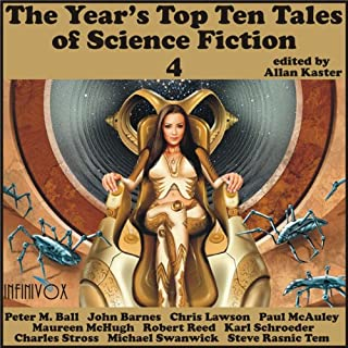 The Year's Top-Ten Tales of Science Fiction 4 cover art