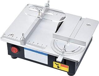 ORPERSIST Bärbar bordscirkelsågmaskin, för klippning av hårt trä, stenskärning, konsthantverk, multifunktionell bordscirke...