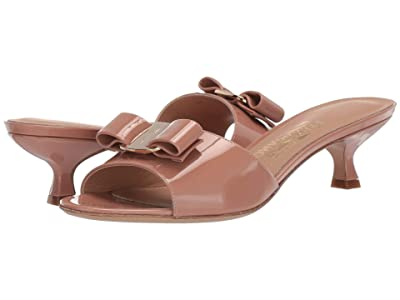 Salvatore Ferragamo Ginostra Kitten Heel (New Blush) Women