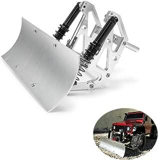 RCLIONS RC Model Car Snowplow Snow Shovel Remote Control for Axial SCX10 90046/90047 TRX4 D90 1/10th RC Crawler Car
