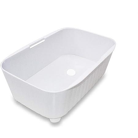 新輝合成 洗い桶 シンクシンク ウォッシュタブ 34型 ホワイト 5L