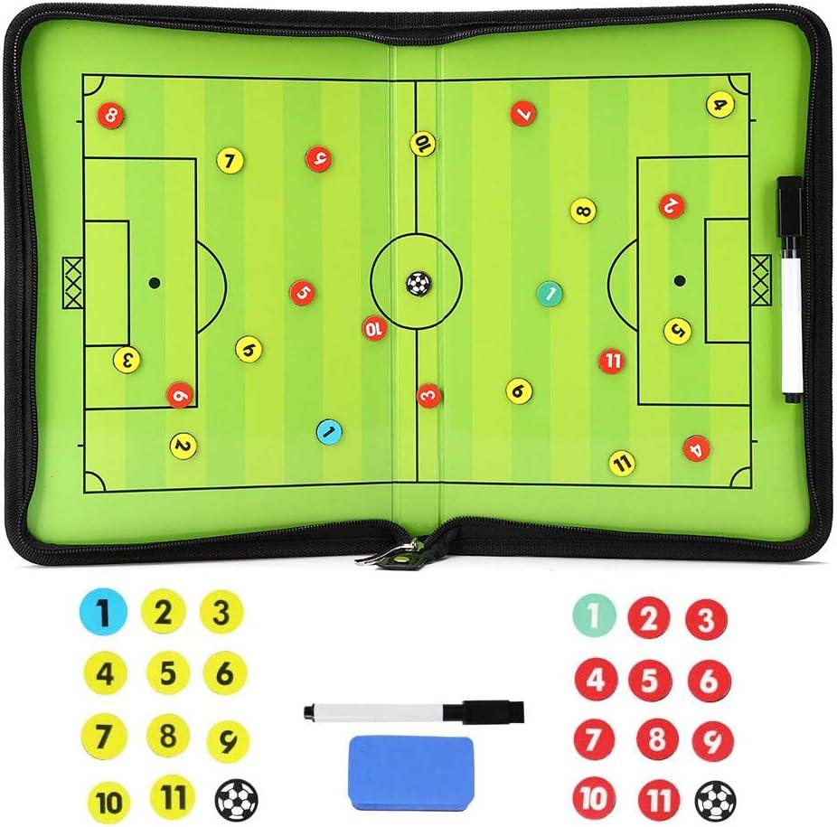 Ultra-Cheap Deals TXENCEX Football Coaching Board Clipboard Magne Tactical Super sale Coaches