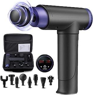 Massagepistool, diepe weefselspier Massager Hand Held Percussie Massager 22 snelheden met LCD Touch Screen Ultra-stille sp...