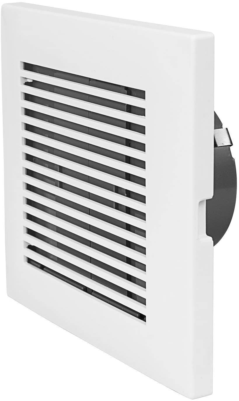 HonGuan 3 Inch Square Air Vent OFFicial store Cover Grille White V Soffit ABS Portland Mall