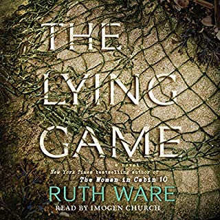 Page de couverture de The Lying Game