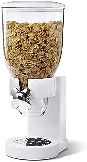 contenitori per cibo secco con valvola a rotazione White due dispenser per cereali per la colazione ASAB