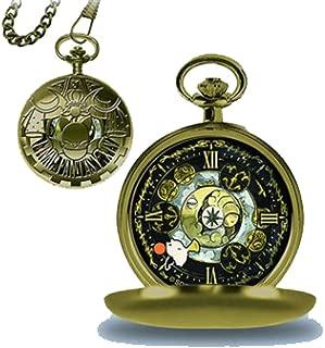 Taito Final Fantasy XIV Moogle Design Gold Pocket Watch