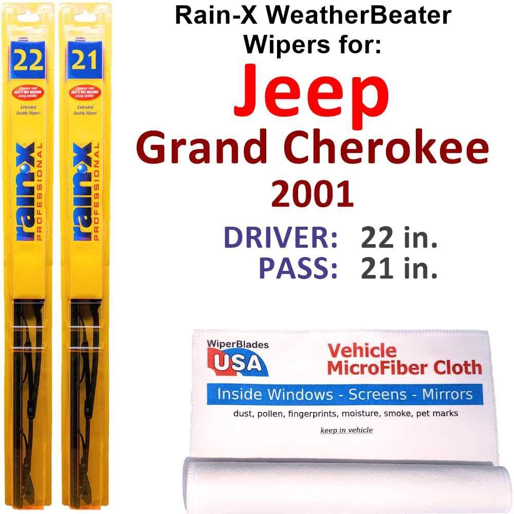 Rain-X WeatherBeater Wiper Blades for Houston Ranking TOP5 Mall Jeep Grand S 2001 Cherokee