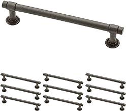 Franklin Brass Puxador de barra reta de ferro macio, alças de armário e puxadores de gaveta para armários de cozinha e gav...