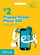 Optus Prepaid SIM Card - 3G 4G LTE Australian SIM Card