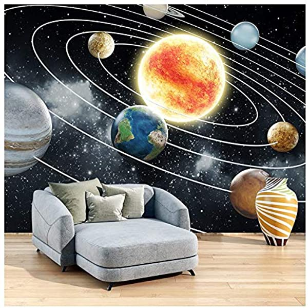 Sun Planets In Our Solar System Galaxy Space Wall Mural Photo Wallpaper Available In 8 Sizes XXX Large Digital