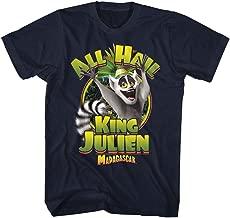 American Classics Madagascar Children's Movie Kingjulien Navy Adult T-Shirt Tee
