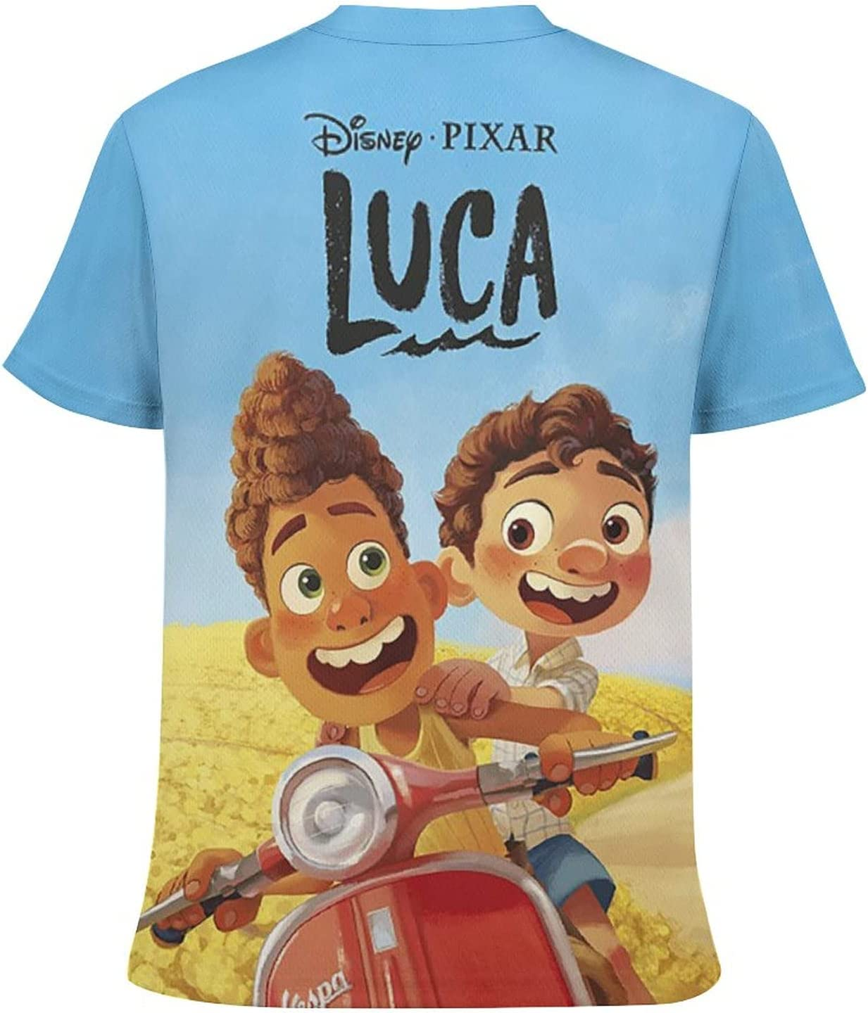 Kid's Novelty Graphic Round Neck Short Sleeve T-Shirt Cozy Trendy Tee Shirts Tops for Boys S