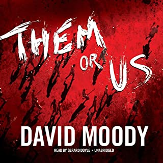 Them or Us audiobook cover art
