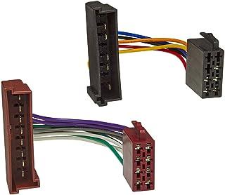 tomzz Audio 7015 001 Radio Adapter Kabel kompatibel mit Ford, Mazda 121, Jaguar auf 16pol ISO Norm