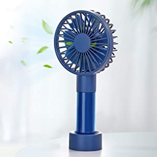 SmartDevil Handheld Fan, Mini Personal Fan with 1200mAh Rechargeable Battery, 3 Speeds Adjustable, Portable Desk Fan with ...
