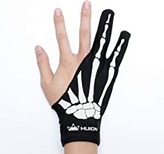 HUION Skeleton Glove for Graphics Drawing Tablets Free Size Two-Finger Artist Glove for Pen Display/LCD Light Box/Pad/Sket...