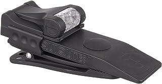 QuiqLitePro Hands Free Pocket Concealable Flashlight (Various LED Color Options) 10 Lumens Black