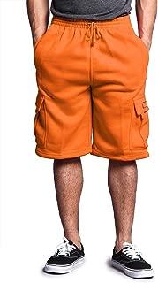 Men's Solid Fleece Cargo Shorts
