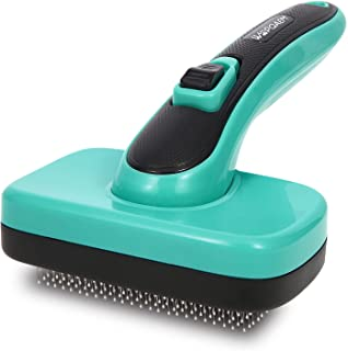 برس تمیز کننده براق ، ابزار ریزش و نظافت برای حیوانات خانگی ، از بین بردن موهای شل ، خز ، زیرپوش ، حصیر ، موهای درهم پیچیده ، گره برای سگهای بلند یا کوتاه کوتاه حساس متوسط ، کوچک ، گربه ، خرگوش
